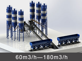 Belt Conveyor Concrete Plant