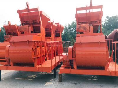 4 sets JS500 Concrete Mixer Export to Poland