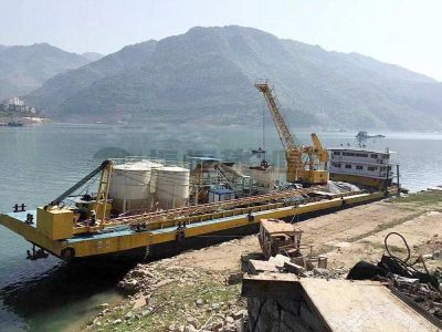Concrete Batching Plant on Boat
