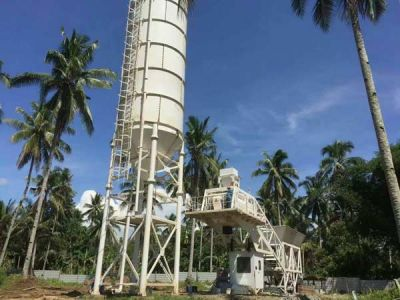 YHZS Concrete Batching Plant in Philippines