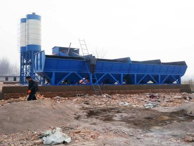 HZS90 Concrete Production Line