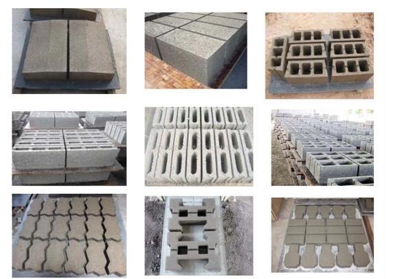 Cellular Lightweight Concrete Block Machine 4-40 Brick Making Equipment